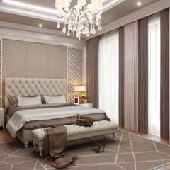 Projekty,  Małe sypialnie zaprojektowane przez Sia Moore Archıtecture Interıor Desıgn, Eklektyczny Lite drewno Wielokolorowy