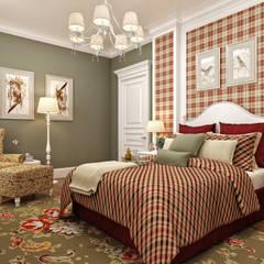 Sia Moore Archıtecture Interıor Desıgn – Bilgah Villa - Baku / Azerbaycan:  tarz Küçük Yatak Odası