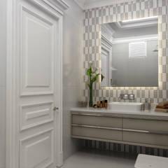 حمام تنفيذ Sia Moore Archıtecture Interıor Desıgn, إنتقائي سيراميك