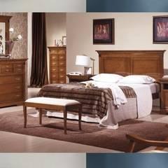 Muebles para dormitorios de matrimonio: Dormitorios de estilo  de GATON VALLE