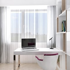 NEW PERSPECTIVE | II | Wnętrza apartamentu od ARTDESIGN architektura wnętrz Nowoczesny
