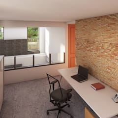 Study/office by AM ARQUITECTOS,