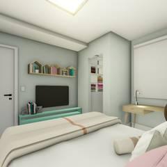 Apartamento de Cobertura com Terraço por Joana Rezende Arquitetura e Arte Moderno