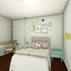 Girls Bedroom by Joana Rezende Arquitetura e Arte, Modern