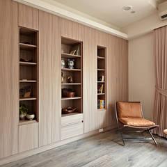 歸屬感:  書房/辦公室 by 耀昀創意設計有限公司/Alfonso Ideas,