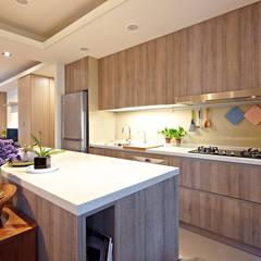 مطبخ تنفيذ 耀昀創意設計有限公司/Alfonso Ideas , إسكندينافي