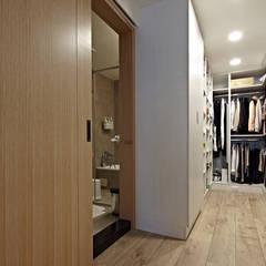 غرفة الملابس تنفيذ 耀昀創意設計有限公司/Alfonso Ideas