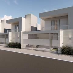 Projetos - Arquiteta Francislaine Costa: Casas pequenas  por Arquiteta Francislaine Costa