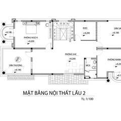 Xây dựng nhà phố 3 tầng tại TPHCM:  Nhà gia đình by TNHH xây dựng và thiết kế nội thất AN PHÚ CONs 0911.120.739,