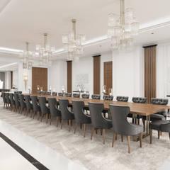 Sia Moore Archıtecture Interıor Desıgn – Göl Evi - Baku / Azerbaycan:  tarz Yemek Odası