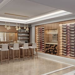 Wine cellar by Sia Moore Archıtecture Interıor Desıgn