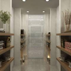 Baños de estilo  por Sia Moore Archıtecture Interıor Desıgn