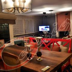 O Design  – O Design Rumeli Hisarı Projesi:  tarz Oturma Odası
