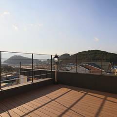 балконы в . Автор – 이우 건축사사무소