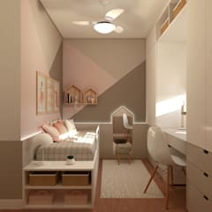 Girls Bedroom by Aizelli Arquitetura, Modern