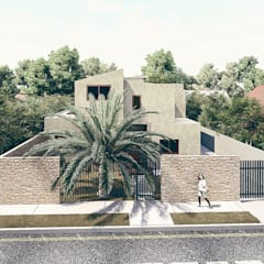 Front yard by RAS Arquitectos,