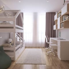 Nursery/kid's room by 'INTSTYLE',