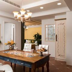 綠意盎然Sueño:  廚房 by 采荷設計(Color-Lotus Design)