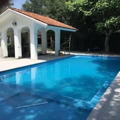 Garden Pool by Arquitecto-Villarino