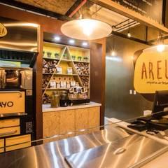 AREUA - AREPERIA ARTESANAL: Cocinas de estilo  por IDEASTUDIO ARQUITECTURA