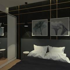 Recámaras pequeñas de estilo  por Ingrid Santos Arquitetura & Design