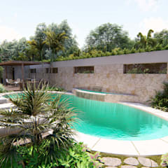 Garden Pool by ROEDI, Tropical