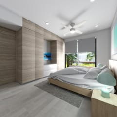 Bedroom by ROEDI, Tropical