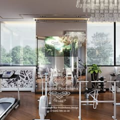 صالة الرياضة تنفيذ Дизайн-студия элитных интерьеров Анжелики Прудниковой