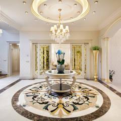 Sia Moore Archıtecture Interıor Desıgn – Özel Villa - Süleymaniye / Irak:  tarz Koridor ve Hol
