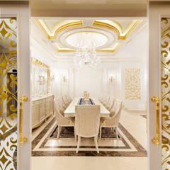 Sia Moore Archıtecture Interıor Desıgn – Özel Villa - Süleymaniye / Irak:  tarz Yemek Odası