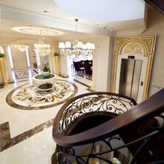 Sia Moore Archıtecture Interıor Desıgn – Özel Villa - Süleymaniye / Irak:  tarz Merdivenler