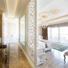Sia Moore Archıtecture Interıor Desıgn – Özel Villa - Süleymaniye / Irak:  tarz Küçük Yatak Odası