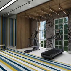 Gimnasios de estilo  por Sia Moore Archıtecture Interıor Desıgn