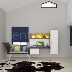 Residential Project In Bangalore :  Boys Bedroom by Entracte