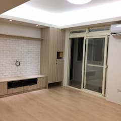 Living room by 捷士空間設計(省錢裝潢), Modern