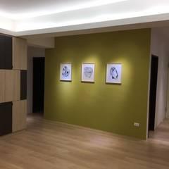 Walls by 捷士空間設計(省錢裝潢), Modern