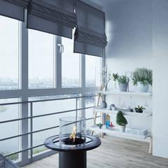 Balcony by Архитектор-дизайнер Фёдор Иванов
