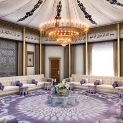 Sia Moore Archıtecture Interıor Desıgn – Ramadan Majlis - Abu Dhabi / BAE:  tarz Oturma Odası