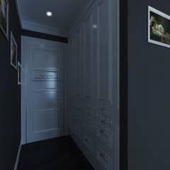 White Bedroom: Гардеробные в . Автор – Patanin Luxury Design