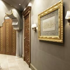 Koridor dan lorong oleh Sia Moore Archıtecture Interıor Desıgn, Mediteran Kayu Wood effect