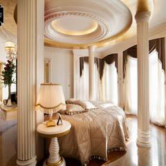 Sia Moore Archıtecture Interıor Desıgn – Bosphorus City Villa - İstanbul / Türkiye :  tarz Yatak Odası