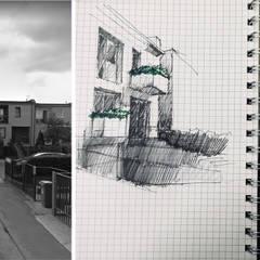 Terrace house by ANIEA Andrzej Niegrzybowski architekt