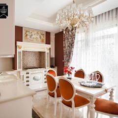 Sia Moore Archıtecture Interıor Desıgn – Bosphorus City Villa - İstanbul / Türkiye :  tarz Ankastre mutfaklar