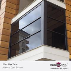 Albert Genau – Giyotin Cam Sistemi :  tarz Balkon