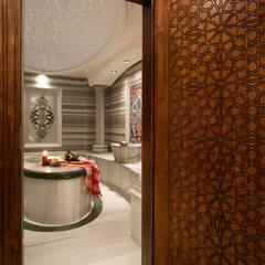Baños Turcos de estilo  por Sia Moore Archıtecture Interıor Desıgn, Clásico Mármol
