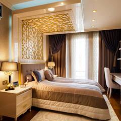 Phòng ngủ nhỏ by Sia Moore Archıtecture Interıor Desıgn