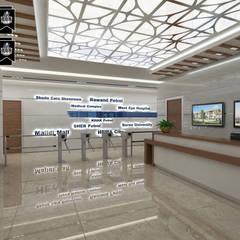 Sia Moore Archıtecture Interıor Desıgn – Hewa Holding Ofis - Erbil / Irak:  tarz Ofis Alanları,