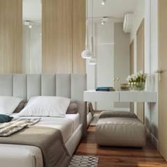 Квартира в ЖК «Гороховский 12»: Спальни в . Автор – 'INTSTYLE'