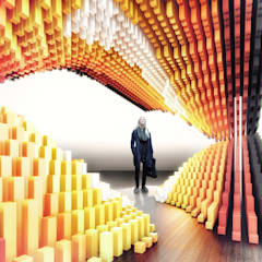 Exhibition centres by Protoforma