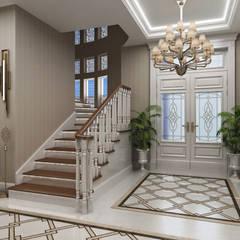 Sia Moore Archıtecture Interıor Desıgn – Sitak Villa - Süleymaniye / Irak:  tarz Koridor ve Hol